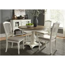 liberty dining room sets 334 t4860 liberty furniture pedestal table
