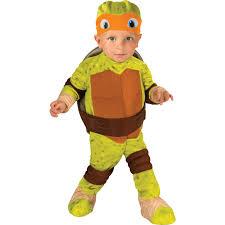 teenage mutant ninja turtle michelangelo toddler costume