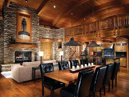 log home living floor plans cool open floor plan in log cabin house view of living room and