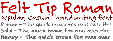 handwriting fonts from myfonts