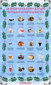 christmas cocktail drinks 20 christmas cocktail recipes to try out at holiday parties
