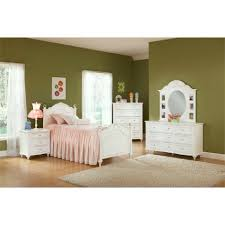 Princess Bedroom Furniture Princess Bedroom Bed Dresser Mirror 22862 Bedroom