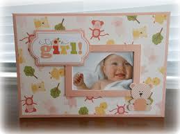 baby boy or baby mini album with bonnie card making