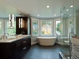 bathroom jack and jill bathrooms layout with blue wall and wooden
