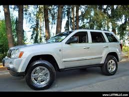 jeep cherokee sport 2005 2005 jeep grand cherokee limited 4x4 v8 hemi lifted chrome wheels