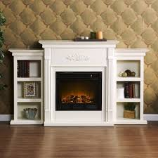 amazing white corner electric fireplace home fireplaces firepits
