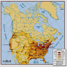 Ice Age Map North America by North America Human Geography World Regional Geography 105 G O