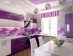 küche lila schön fototapete küchenrückwand mit lila blumen motiv
