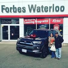 toyota car showroom your toyota car dealership in waterloo forbes waterloo toyota