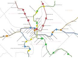 washington subway map home wmata