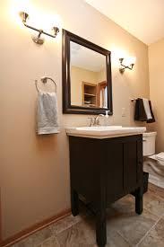 Half Bathroom Remodel by Main And Half Bath Remodel U2013 Badger Carpentry Inc