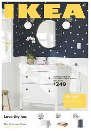 ikea the bathroom event flyer june 12 to july 3