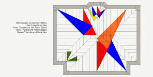 Hip And Valley Roof Design Roof Framing Geometry Hip U0026 Valley Roof Framing Example 1