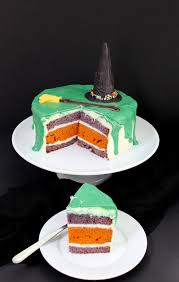 Halloween Cake Recipe Melted Witch Halloween Cake