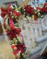 Christmas Banister Garland Ideas 50 Best Diy Christmas Garland Decorating Ideas For 2017