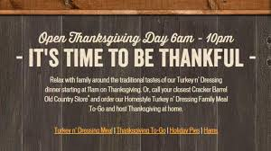 cracker barrel thanksgiving menu 2015
