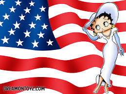 betty boop thanksgiving betty boop pictures archive american flag betty boop wallpapers