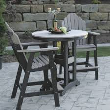 Outdoor Bistro Table Counter Height Outdoor Bistro Table Gccourt House
