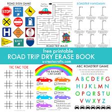 Halloween I Spy Printable Free Printable Road Trip Book