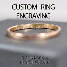 wedding ring engraving ring engraving wedding band engraving date initials