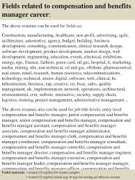 sample benefits manager resume crafty inspiration sample human