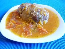 plats à cuisiner jarret de veau à l orange plat du jour recettes de cuisine