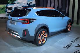 lifted subaru xv subaru xv concept revealed at 2016 geneva motor show by car magazine