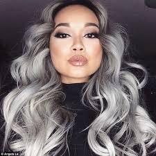 black hair with grey streaks 2016 grey hair color ideas for black women 2017 haircuts
