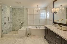 Bathrooms By Design Bathrooms With Glittering Chandeliers Regarding Bathroom By Design