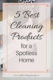 best cleaning products for a spotless home