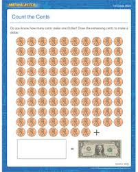 count the cents u2013 money worksheet with addition and subtraction
