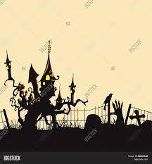 halloween background banner vectores y fotos en stock de scary halloween background banner or
