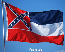 Flag With 2 Red Stripes And 1 White Mississippi Flag Colors Mississippi Flag Meaning
