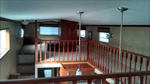 Park Model Travel Trailer Floor Plans Canterbury Triple Loft 2013 Model 1238 Cktl Serial 4774 Youtube
