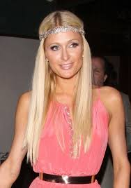 hair styles in paris paris hilton long blonde super sleek hairstyle with sparkly
