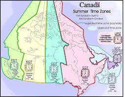 time zone layout cing canada cgrounds canadian daylight saving time zones