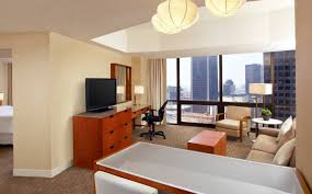 Suite by Downtown Los Angeles Accommodation One Bedroom Tower Suite The
