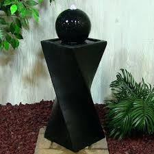 solar powered water features for gardens solar powered outdoor