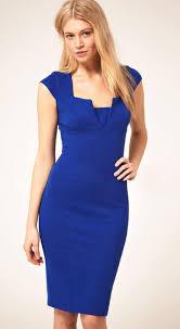 sheath dress royal blue square neck cap sleeve sheath dress abaday