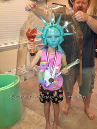 cool costume ideas ny costume idea statue of liberty snow globe