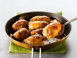 cuisiner paupiette de veau paupiette de veau au beurre de sauge écrasé de pommes de terres