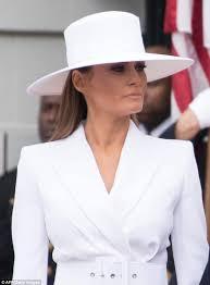 Fedora Hat Meme - melania trump s white hat inspires hilarious memes daily mail online