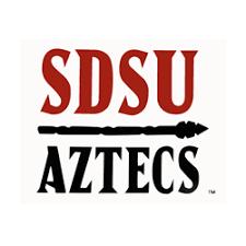 sdsu alumni license plate shopaztecs sdsu aztecs decal