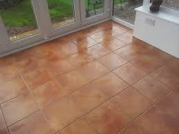 impressive terracotta laminate flooring tile effect terracotta
