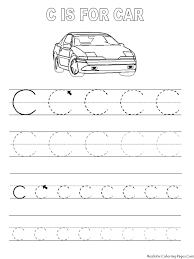 printables tracing letters tags alphabet coloring pages