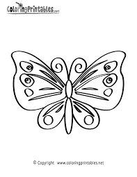 butterfly coloring page a free nature coloring printable