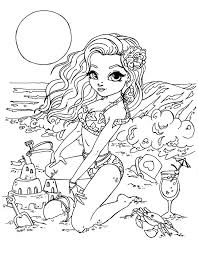 Halloween Coloring Pages Adults Sandcastle By Jadedragonne Printable Art Coloring Pages