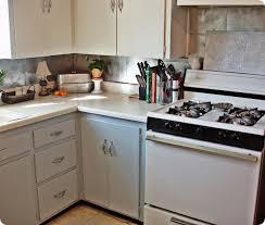 Stick On Kitchen Backsplash by Make A Dollar Store Kitchen Backsplash For About 25 Dollar