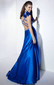 buy tailor made one shoulder royal blue fascinating beading prom