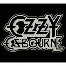 embroidered patch music ozzy osbourne